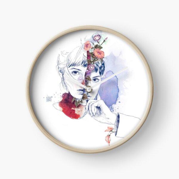 CELLULAR DIVISION by elena garnu Clock