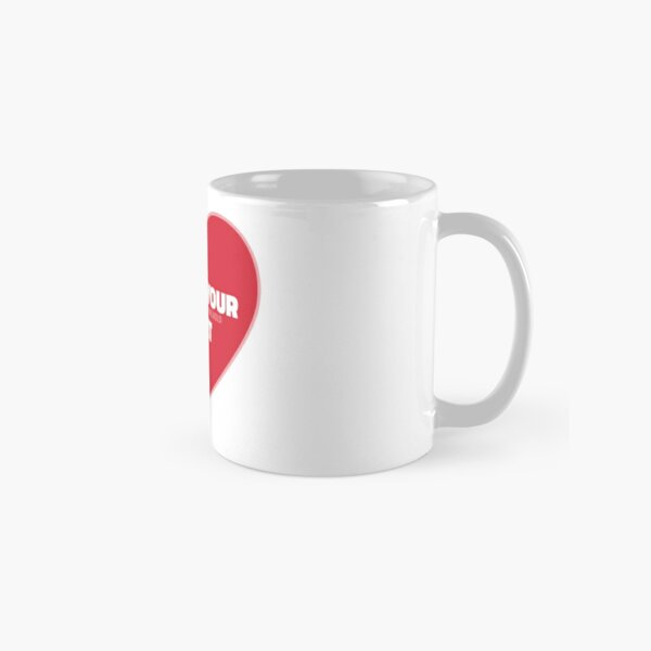 Follow Your Heart (Red) Classic Mug