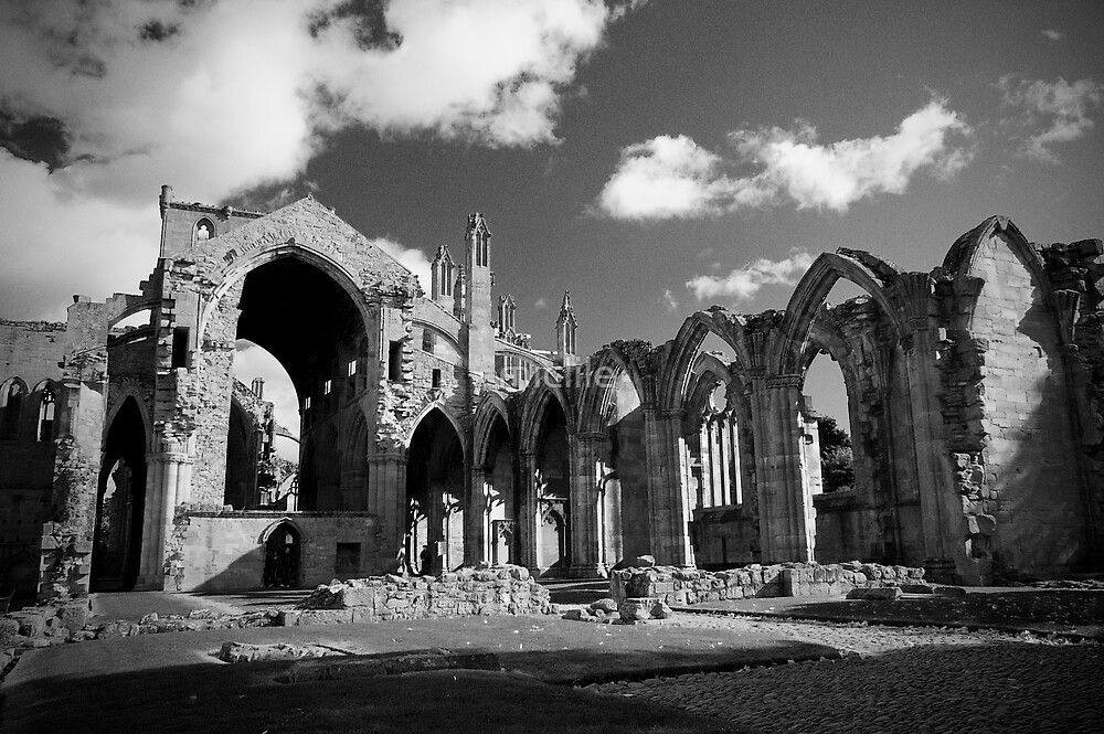 Melrose Abbey 2 by miclile