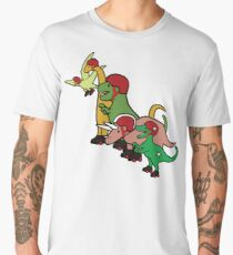 Roller Derby Dinosaurs Men's Premium T-Shirt