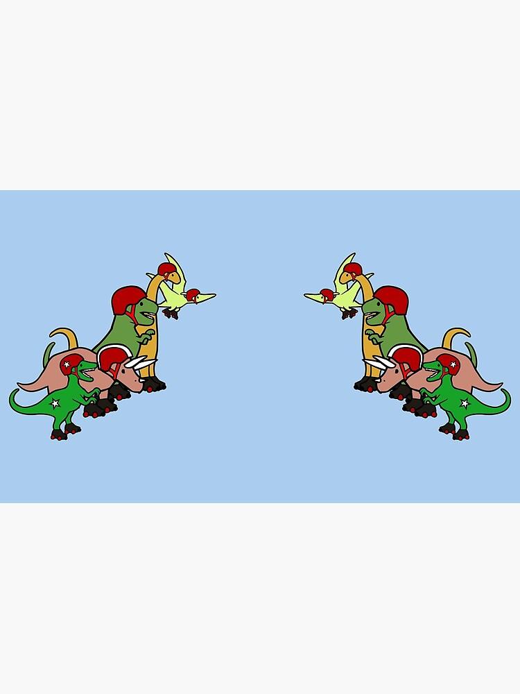 Roller Derby Dinosaurs de jezkemp