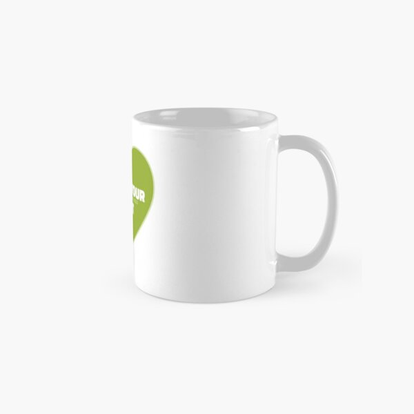 Follow Your Heart (Green) Classic Mug