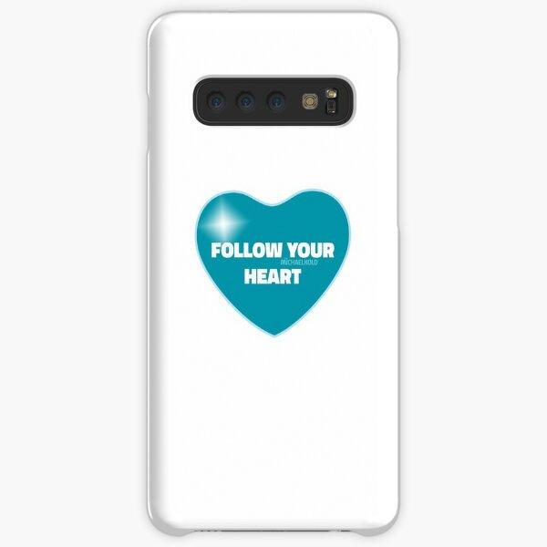 Follow Your Heart (Blue) Samsung Galaxy Snap Case