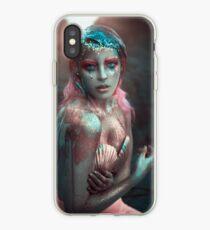 Pink Mermaid Vinilo y funda para iPhone