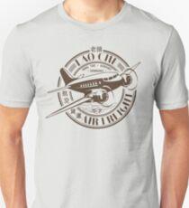 Lao Che Air Freight Dark Brown Slim Fit T-Shirt