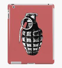 Hand Grenade in Black Shadow iPad Case/Skin