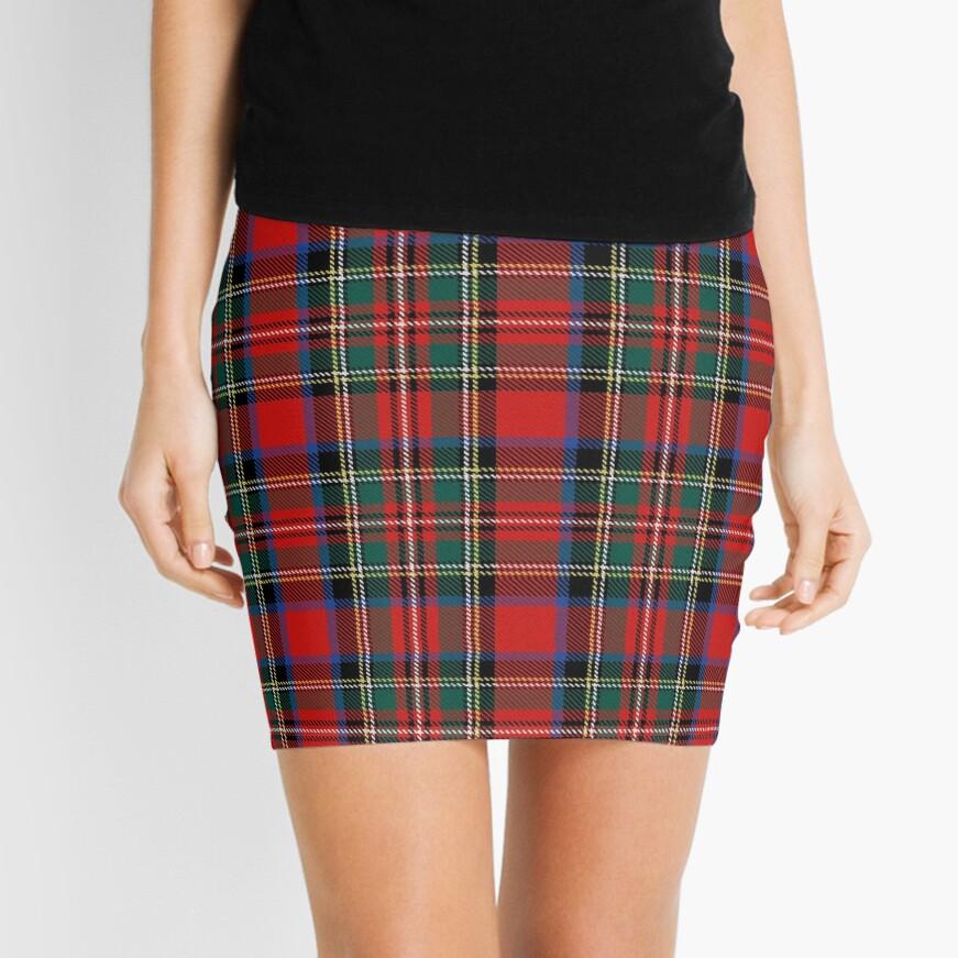 tartan stuart outlander Mini Skirt