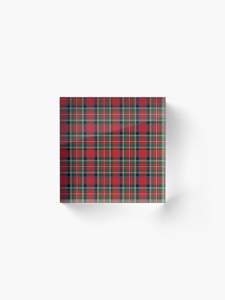 Vista alternativa de Bloque acrílico tartan stuart outlander