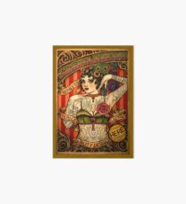 CHAPEL TATTOO; Vintage Body Advertising Art Art Board