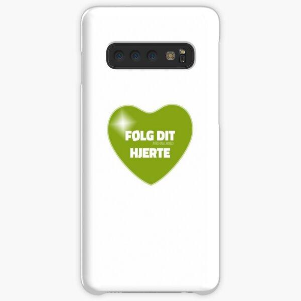 Følg dit hjerte (Green) Samsung Galaxy Snap Case