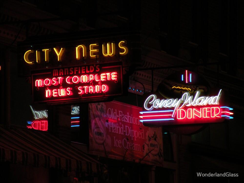 city news by WonderlandGlass