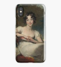 Sir Thomas Lawrence, Lady Maria Conyngham (died 1843), ca. 1824, 1825 iPhone Case/Skin
