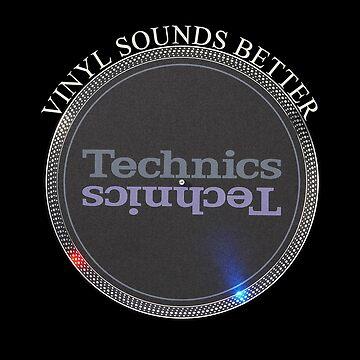 Vinyl Sounds Better by Grimm-Land