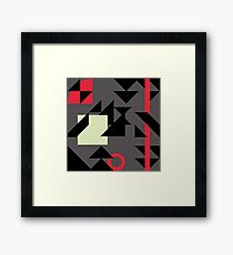 Office camouflage  Framed Print