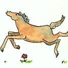 Running Horse by Tama Blough