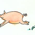 Running Pig by Tama Blough