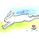 Running Rabbit by Tama Blough