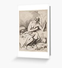 St Geronimo ANÓNIMO, BLOOTELING ABRAHAM Greeting Card