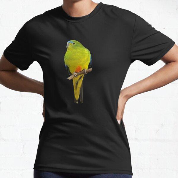 Orange-bellied Parrot 2 Active T-Shirt