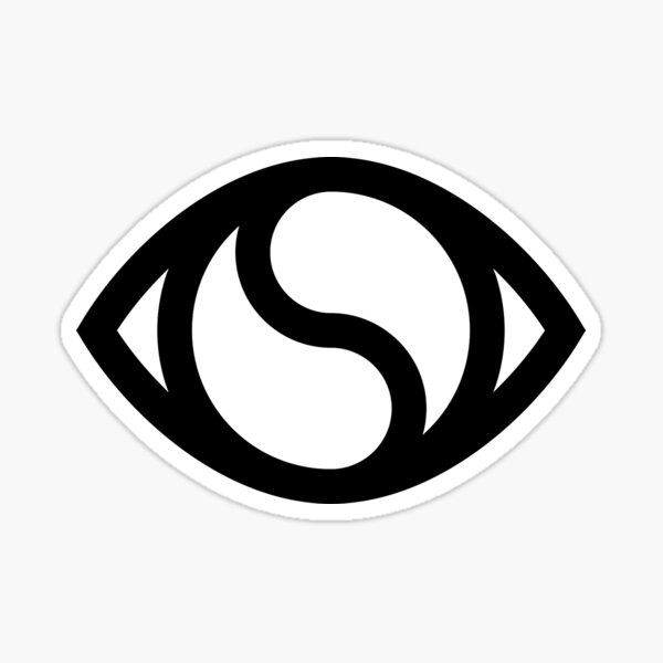 Soulection Hi-Res Transparent (BLACK) Sticker