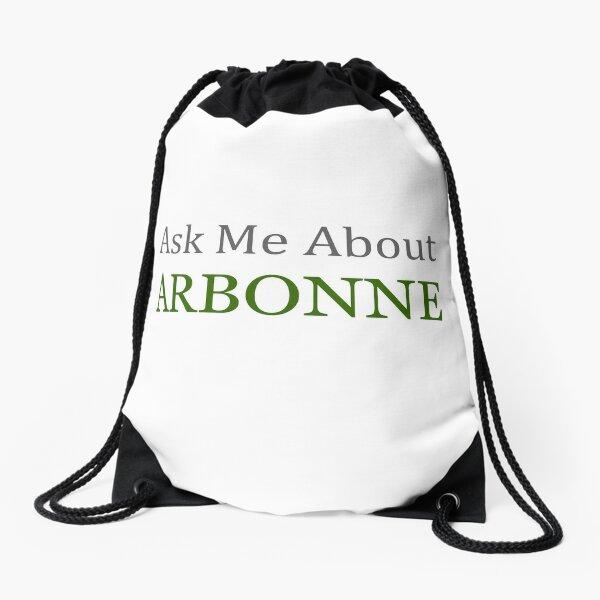 Arbonne - Demandez-moi à propos de la chemise Arbonne et plus Sac à cordon