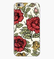 Floral rose iPhone Case