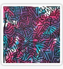 Pattern Lines Sticker