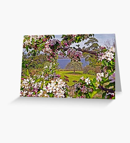 I'll be with you in Apple Blossom Time Greeting Card