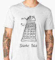 Salvador Dalek - black print version Men's Premium T-Shirt