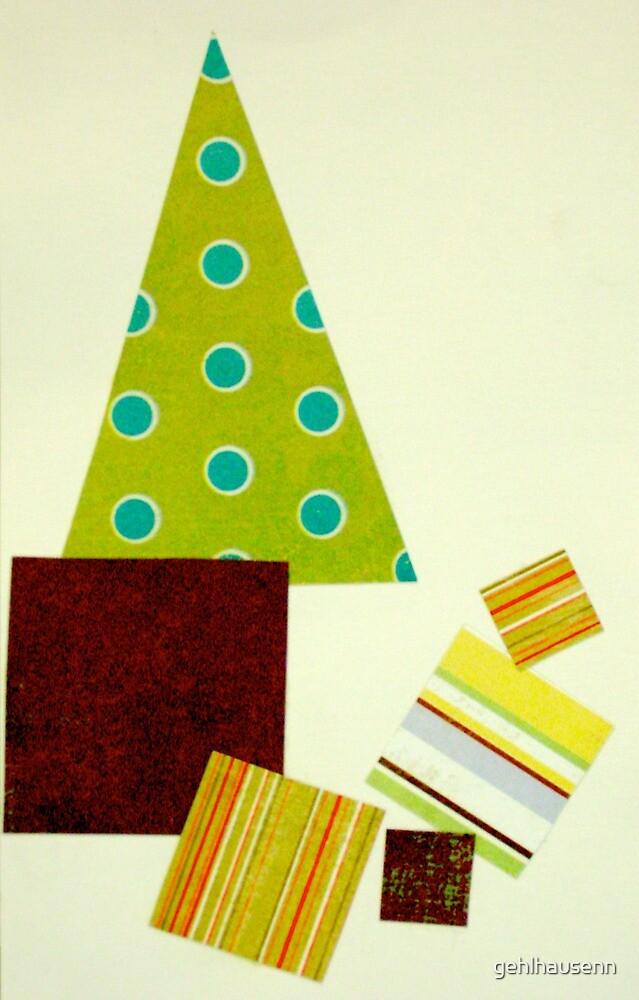 Polka dot Christmas tree by gehlhausenn