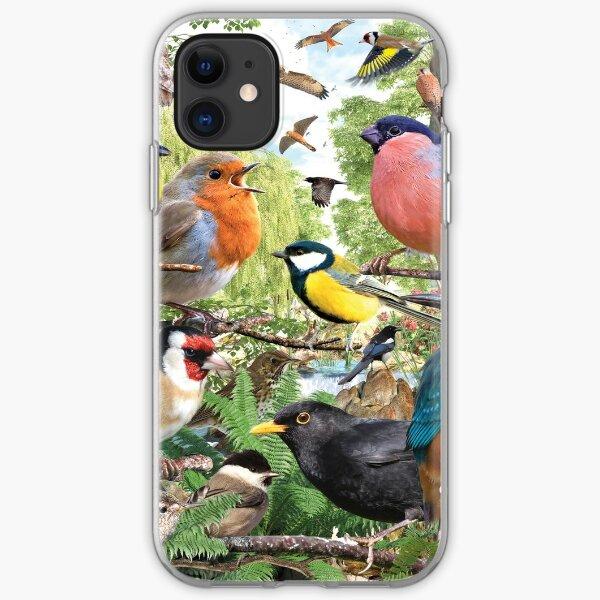 British Birds iPhone Soft Case
