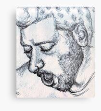 Jonny Metal Print