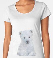 Little Polar Bear Premium Scoop T-Shirt