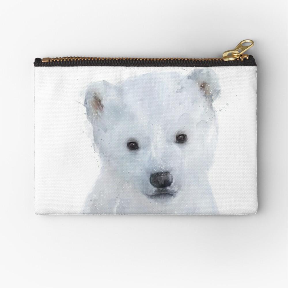 Little Polar Bear Zipper Pouch