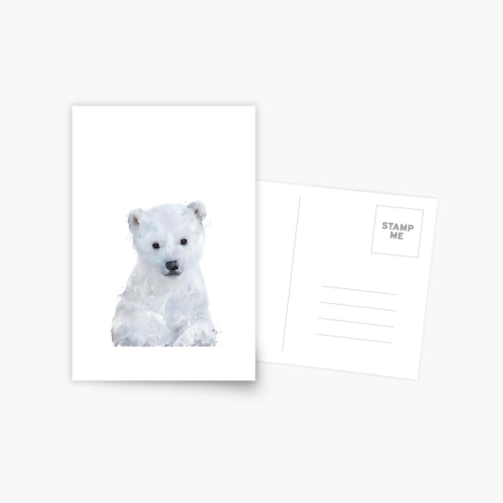 Little Polar Bear Postcard