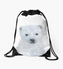 Little Polar Bear Drawstring Bag