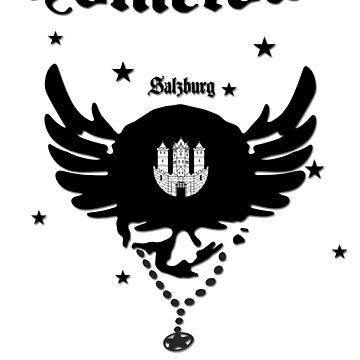 Salzburg Coat of Arms - Hometown - Austria - Austria by lemmy666