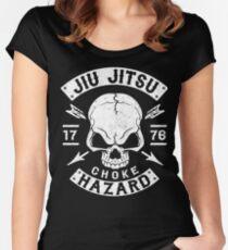 JIU JITSU - CHOKE HAZARD Women's Fitted Scoop T-Shirt