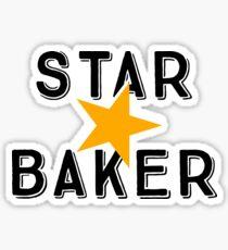 Star Baker—Great British Bake Off Sticker