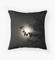 The man on the moon  Throw Pillow