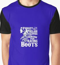 This princess wears racing boots Graphic T-Shirt