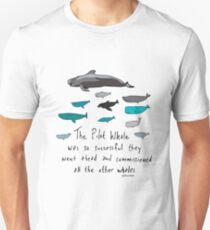 Pilot Whales Cartoon T-Shirt