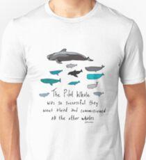 Pilot Wale Cartoon Unisex T-Shirt