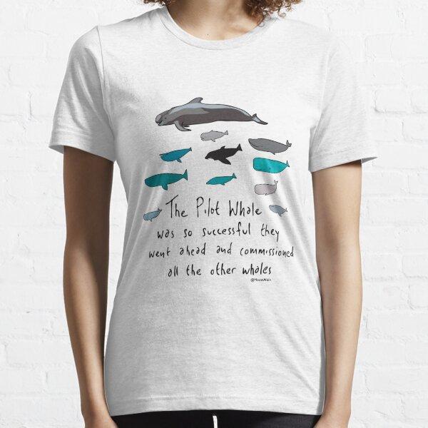 Pilot Whales Cartoon Essential T-Shirt