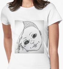 Halloween Child Women's Fitted T-Shirt
