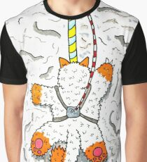 Mr Meow Just Keeps Climbing Graphic T-Shirt