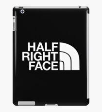 Half Right Face iPad Case/Skin
