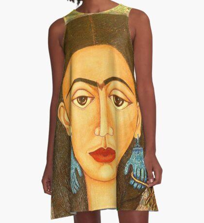 My homage to Frida Kahlo A-Line Dress