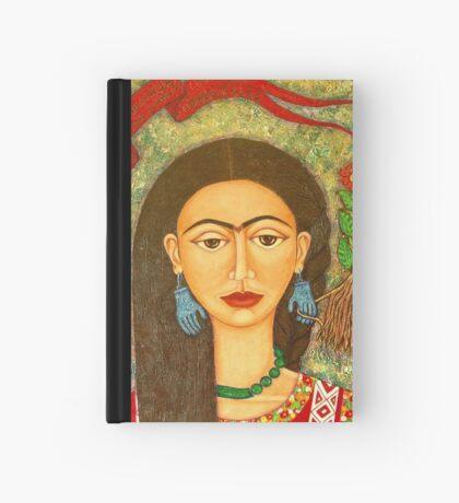 My homage to Frida Kahlo Hardcover Journal