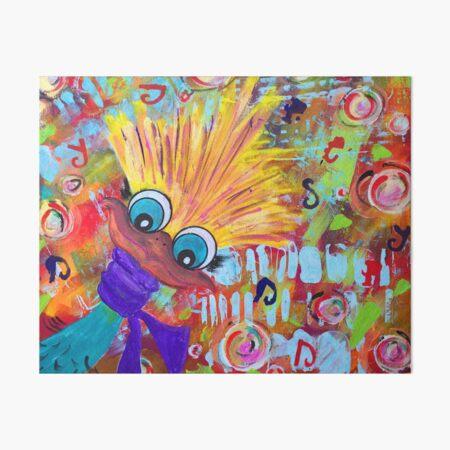 peek-a-boo Art Board Print